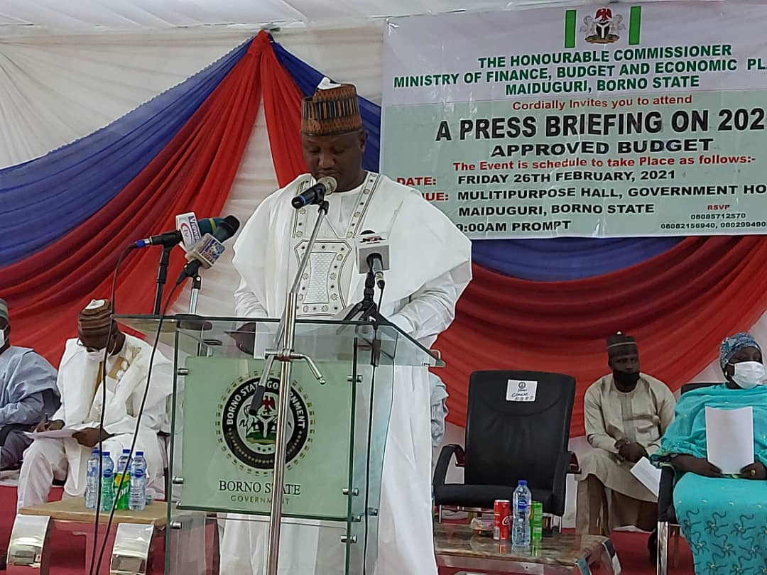 Borno state government warn MDA's against spending resources outside budgetary allocation