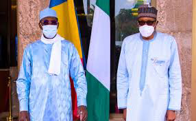 President Buhari commended Chad for its role in curbing insurgence in the region