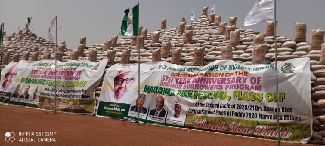 FG commenced sales of 200,000 metric tones of paddy rice cultivated in the North West