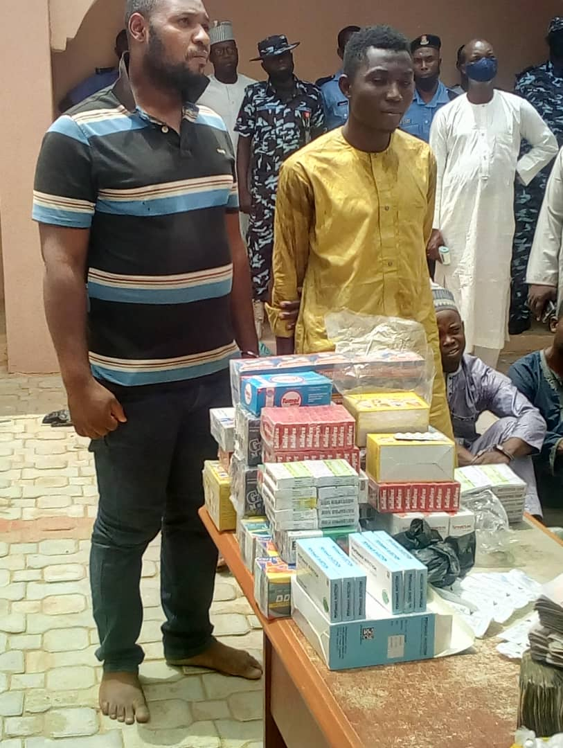 ZAMFARA POLICE COMMAND PARADES IGBO MAN, OTHERS FOR SUPPLY OF DRUGS, WEAPONS TO BANDITS