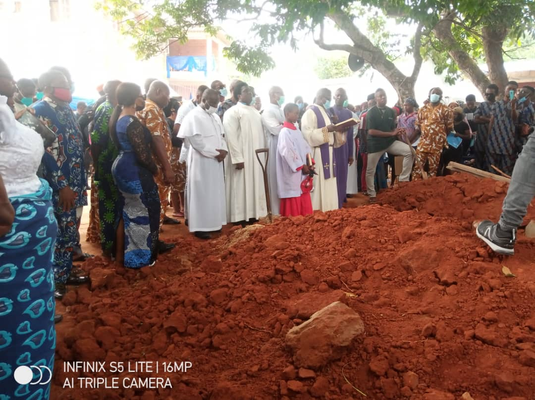 The remains of the former DG of FRCN, Mr Ben Egbuuna, laid to rest