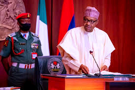 President Buhari paid tribute to the patriotic martyrs of the Nigerian civil war