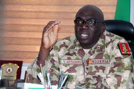 MY VISION WILL REBUILD THE NIGERIAN ARMY TO A FORMIDABLE FORCE -COAS