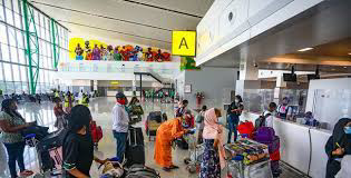 Travel activities at the airport terminals in Lagos have increased with the Easter holidays