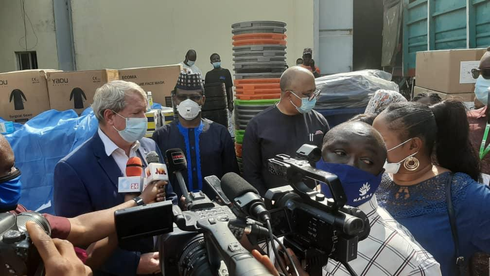 FG receives $8 million worth of PPEs, and Medical consumables from UNICEF