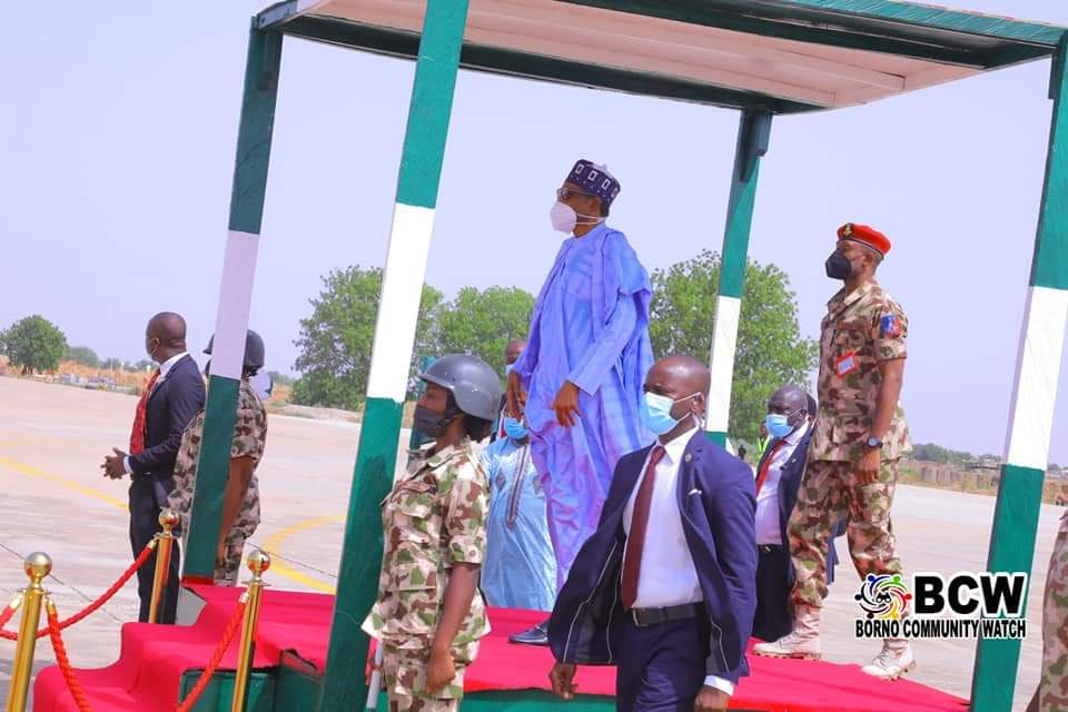 Buhari pledges commitment to procure more arms and ammunition to address insecurity