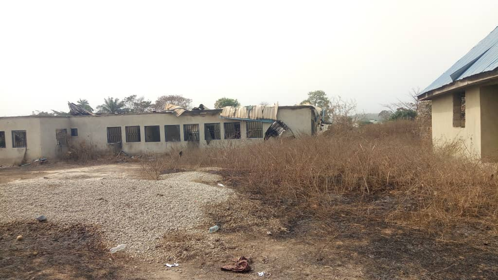 FG's HEALTH PROJECT IN ONDO GUTTES BY FIRE