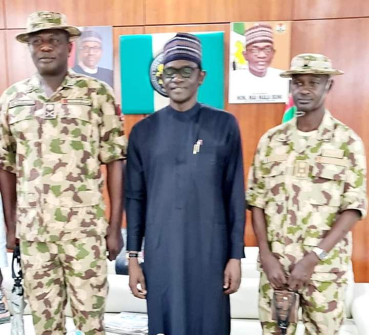 NEW COMMANDER SECTOR 2 OPERATION LAFIYA DOLE ASSUMES OFFICE