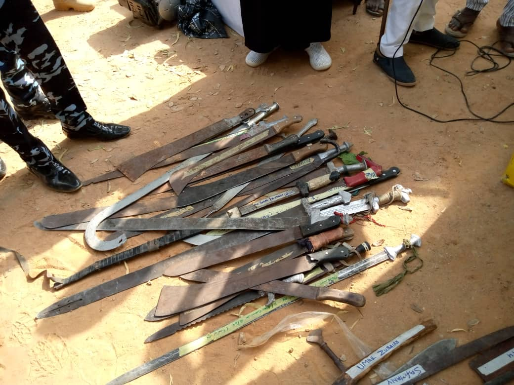 Kano command of Nigeria police Arrests kidnappers syndicate