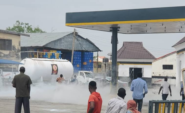 Scores have been injured following gas explosion at a filling station in Offa Garage area of Ilorin, the Kwara State capital