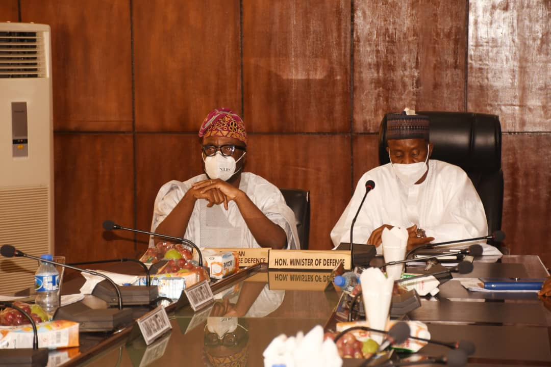 NASS Complements MOD to achieve total Security.
