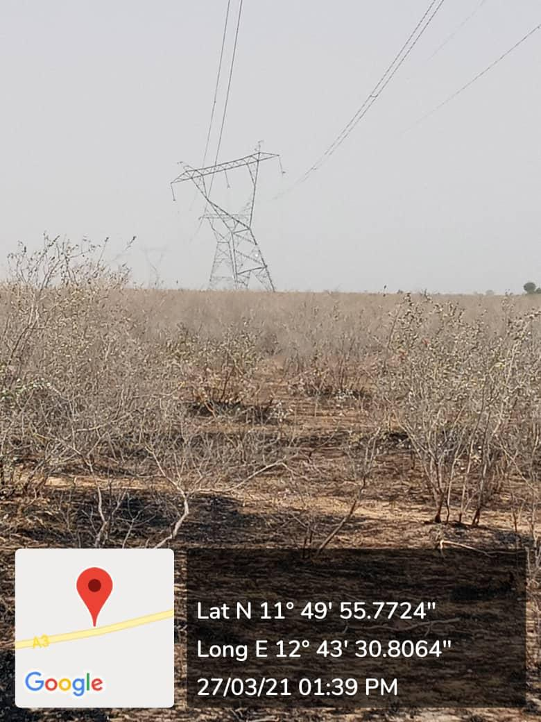 Boko Haram brings down another transmission tower, 72 hours after reconnecting Maiduguri back to national grid